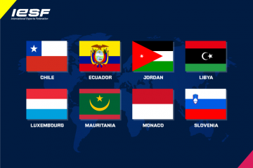 8 New Member Nations join IESF